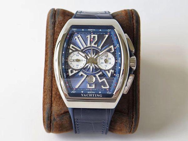 la entrega gratuita de los nuevos mens relojes de lujo construido en 7750 para hombre totalmente automáticas del reloj movimiento 44x54mm reloj de lujo movimiento orologio di Lusso