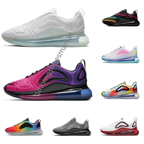 Scarpe da corsa per gli uomini donne tripla nero bianco grigio freddo vero orgoglio della tintura del legame del mens traspiranti scarpe da tennis di sport di moda allenatore 36-45