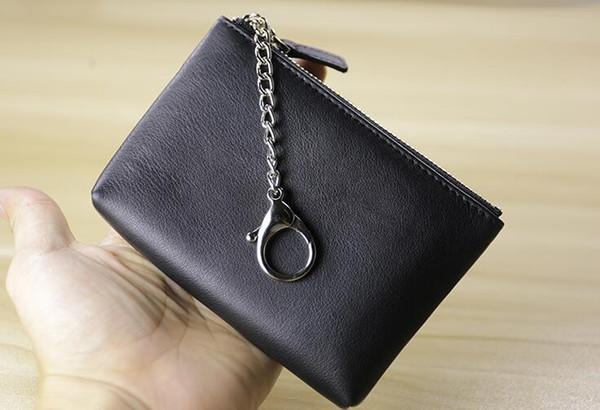 Prezzo speciale! SACCHETTO CHIAVE Il cuoio più damier tiene la borsa di piccola borsa di cuoio delle donne del progettista classico famoso di alta qualità della borsa della borsa della piccola moneta