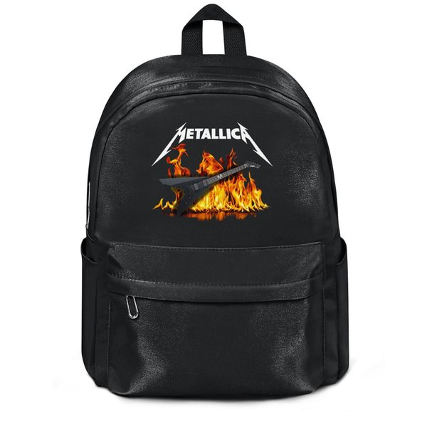 Metallica James Hetfield Guitarra Novedad Moda deportiva Lana, mochila de hombro, diseño pop personalizado cadena ajustable Paquete, suita