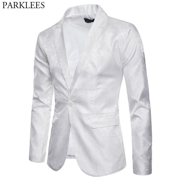 giacca da uomo bianca