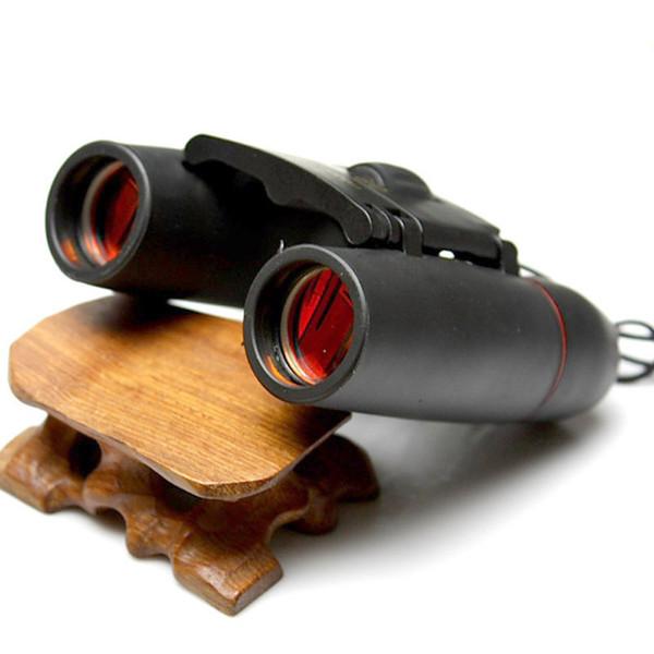 Jumelles pliantes HD Mini télescope Zoom 30x60 avec vision nocturne basse lumière pour l'observation des oiseaux en plein air, voyage, chasse camping 1000m