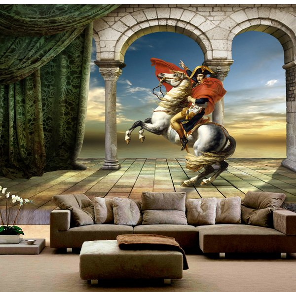 2019 Mural Paper Hero Napoleon Oil Painting Tv Background Hd Superior Interior Decorations Wallpaper Desktop Wallpaper Desktop Wallpaper Download From