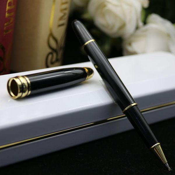 lápiz clip de rodillos de oro negro