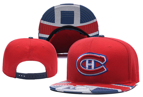 low priced 5ac22 33c7c Montreal Canadiens Ice Hockey Knit Beanies Embroidery Adjustable Hat  Embroidered Snapback Caps Navy Blue Red Stitched