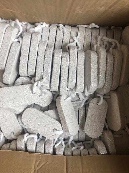 9.5x1.5cm Pie de piel caliente Limpio Scruber Removedor de piel dura Exfoliante Pie de piedra pómez Limpio