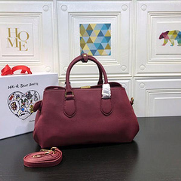 Famosa marca francesa D3616 Calidad icónica Berkin 36 cm Taurillon Totes de cuero, Cierre de giro, Manijas dobles superiores, Bolsa de polvo