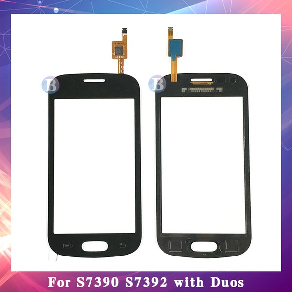 """10Pcs/lot High Quality 4.0"""" For Samsung Galaxy Trend Lite S7390 S7392 DUOS Touch Screen Digitizer Sensor Outer Glass Lens Panel"""