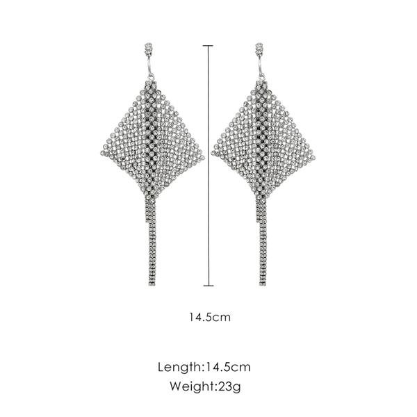 2019 Nuova moda nappa temperamento femminile personalità esagerata orecchini atmosferici J190628