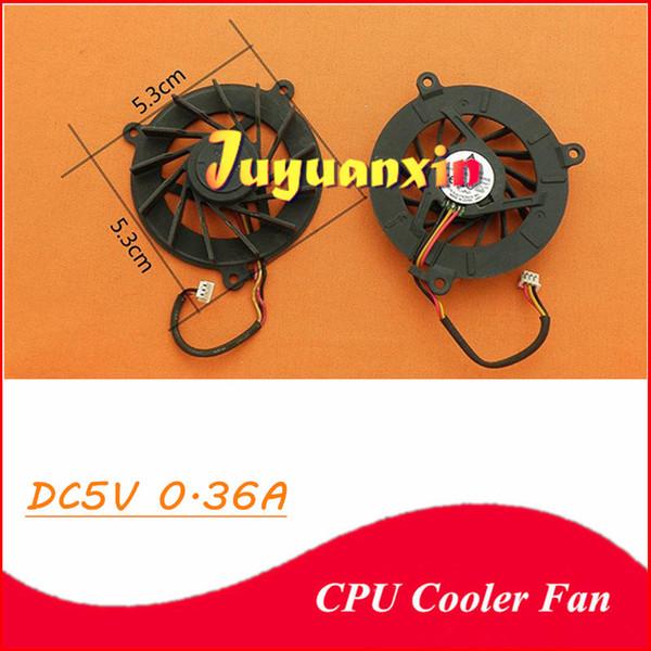 Yeni asus a8 x81 f3j a8j m51 için cpu soğutucu fan m51 a6000 a3000 f8v n80v n81v m51 z99 f3 3pin hattı dizüstü dizüstü soğutma fanı