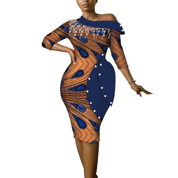 African Dresses For Women Vestidos Tasel Elegant Ankara Dresses Dashiki  Plus Size Off Shoulder African Clothing WY3686 Lace Summer Dresses Cheap  Dress ...