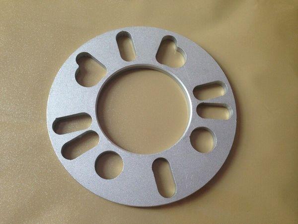 uno de 7 mm 5 mm pic adaptador universal del espaciador de la rueda 4x98 4x108 5x100 5x108 4x114.3 5x98 5x112 5x115 5x120 5x114.3 accesorios del coche