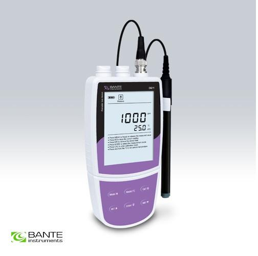 Brand BANTE Professional portable nitrate ion meter tester analyzer handheld data store USB to PC high quality