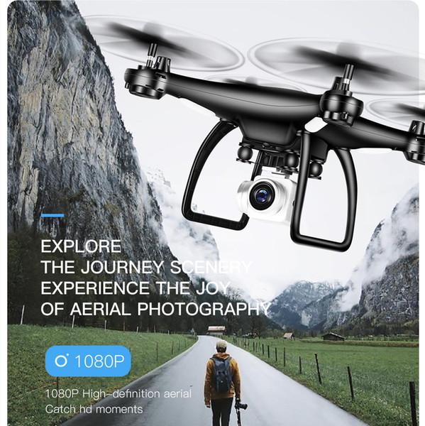 TXD 9S RC HD 1080P Caméra Aéronefs Drone Chemin de vol désigné par gravité de détection UAV 3 changement de vitesse Quadcopter Gesture Photographie
