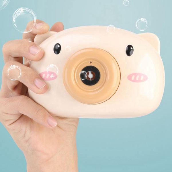 brown pig Bubble Cam