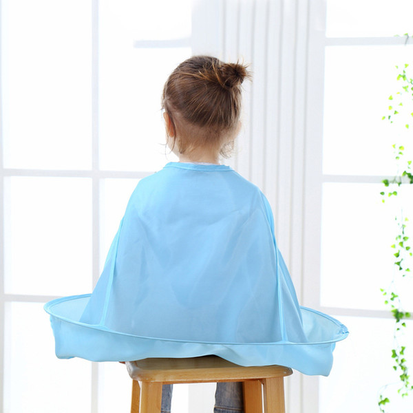 Neueste Kinder Kinder Haarschneideumhang Kleid Salon Friseur Friseur Schürze Wasserdichtes Tuch DTT88