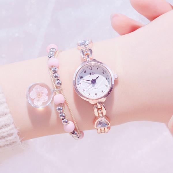 Exquisite luxus kristall frauen quarzuhren mode voller stahl damen casual armbanduhr elegante einfache weibliche uhren
