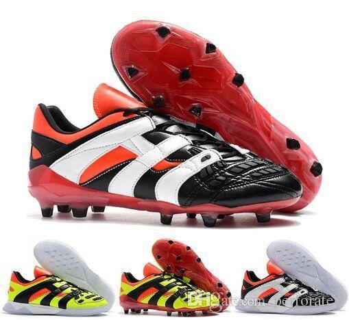 оригинал 2018 Predator Accelerator электричество FG DB dream back 98 TR становится 1998 98 мужская футбольная обувь бутсы футбольные бутсы размер 39-45
