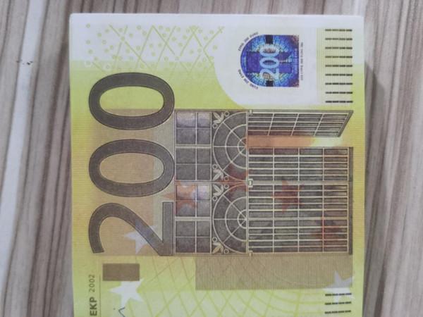200 euro 100pcs