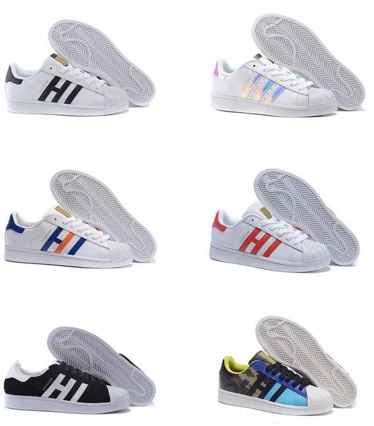 Süperstar Orijinal Beyaz Hologram Yanardöner Genç Altın Superstars Sneakers Orijinalleri Süper Yıldız Kadın Erkek Spor tasarımcısı ayakkabı spor ayakkabı
