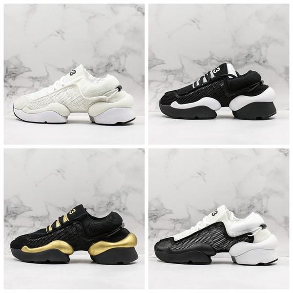 Y-3 Мужская Обувь Ren Kaiwa core обувь Мужская Кроссовки Для Женщин Luxe Мода Желтый Черный Красный Y3 Кроссовки Дизайнерские Кроссовки Размер 36-45