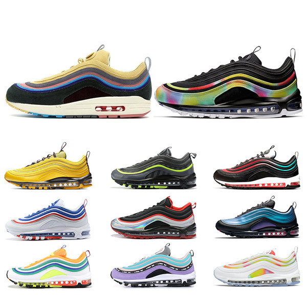 arrives arriving good looking Acheter Nike Air Max 97 Moutarde Jaune Airmax Chaussures De Course ...