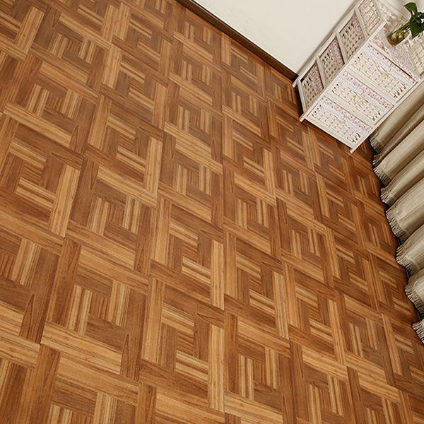 1pcs 3D Wood Grain Tile Floor Art Mural Sticker Home Decor Kitchen Bathroom Toilet Poster Waterproof Self-adhesive Wall Stickers