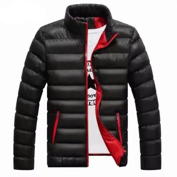 Kış ceket erkek ultra hafif aşağı ceket erkek tasarımcı marka beyaz ördek aşağı içeriği% 90 yaka palto M-4XL