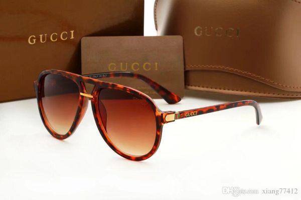 Designer's style Korea's big trend suThe new south Korean fashion sunglasses male and European big box street sunglasses wholesale