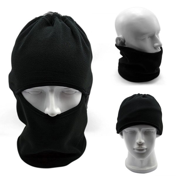 BLACK SPORT BALACLAVA BIKE MOTORCYCLE MOTORBIKE SKI HELMET FACE MASK NECK WARMER