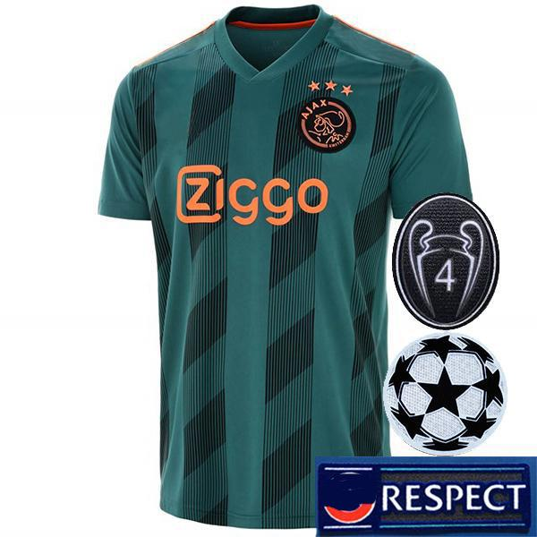 away champion league patches