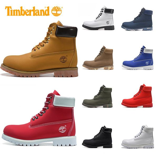 Hot Sale designer Brand boots for mens winter boots top quality womens Boot Military Triple White Black Camo Sneaker Shoe US 5-11