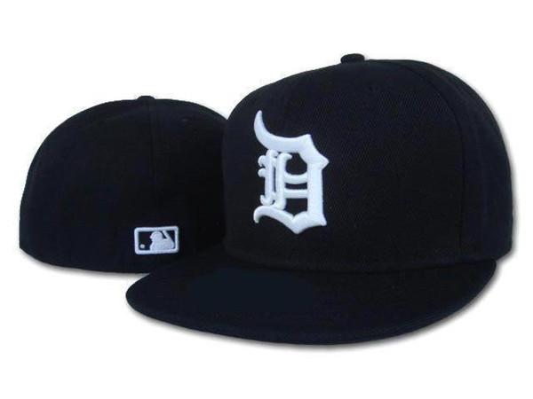2019 Top Sale chapeaux sunhat Detroit chapeau casquette de Baseball Baseball Brodé Équipe Équipe Bord Bord Adulte Baseball Taille Cap