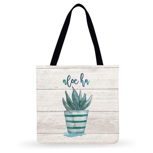 Womens Leather Wild Cacti Plants Green Handbag Satchel Tote Bag Tote Purse