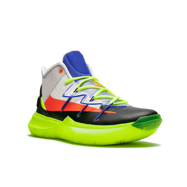 New Released 5 5s Basketball Shoes All Star for Top Quality Kyrie Chaussures Green Rokit Mens Trainers Sports Sneakers