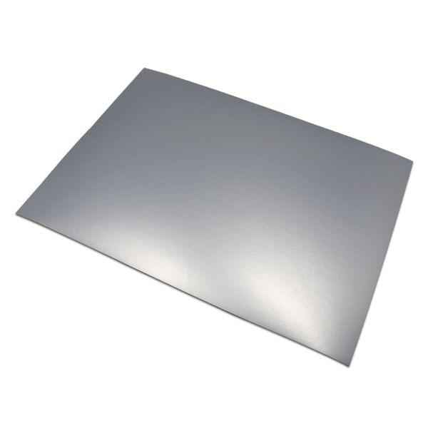 50pcs/lot Matte Silver / Gold 21*29.7cm A4 Format Self-Adhesive Aluminum Foil Printing Paper A4 Label Stickers Paper fit Laser Printer