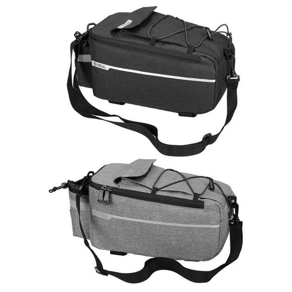 B-SOUL Bicycle Bag Bike Rear Rack Bag Package Bicycle Shelf Utility Pocket