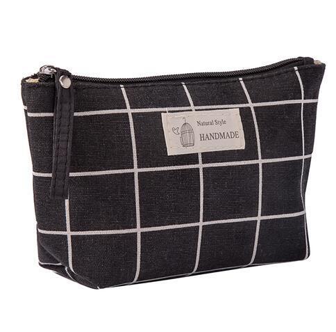 ETya women makeup zipper ladies bag phone bags purse travel bag Beauty wash bag