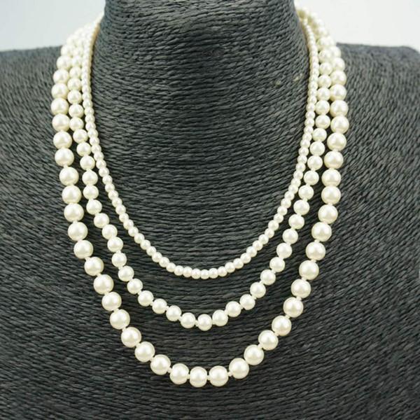 TF08 Kadınlar Için 925 Gümüş Düğün kolye Simüle Takı Nişan kolye Aksesuarları