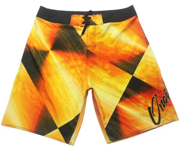 Elastic Fabric Relaxed Low Beachshorts Mens Board Shorts Bermudas Shorts Casual Shorts Quick Dry Surf Pants Swimwear Swim Trunks Swim Pants