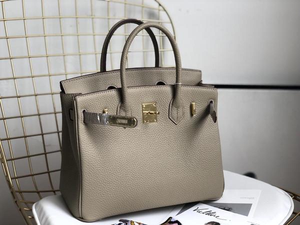 sacs à main designer Jambons motif bourse litchi sac à main de luxe femmes en cuir véritable sac à main 25cm 30cm 35cm sacs de mode sac à main 2020