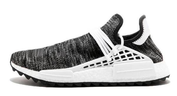 sports shoes 72567 f6eaf 2019 2019 Human Race Hu Trail Pharrell Williams NMD Shoes Nerd Black Cream  Holi Trainers Mens Women Sports Runner Sneaker From Santaonline, &Price; |  ...
