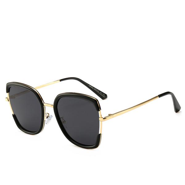 ed227748c4d29 2019 New Big Frame Óculos De Sol Famoso Designer de Escudo Moda Óculos de Alta  Qualidade Proteção UV Luxo Eyewear Marca Mulheres Óculos De Sol