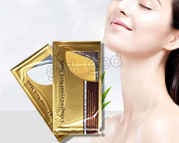New Hot Selling Deep Water 50pcs Collagen Crystal Neck Mask Patch Moisture Neck Mask Collagen Crystal Mask Skin Care Series