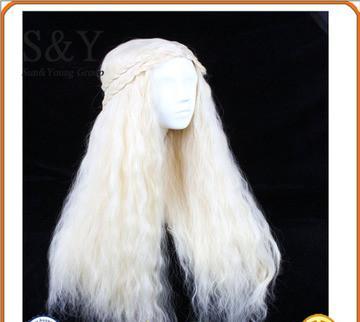 Parrucca per capelli destra set di capelli ondulati per qualsiasi tipo di viso Prodotti per capelli Parrucche sintetiche