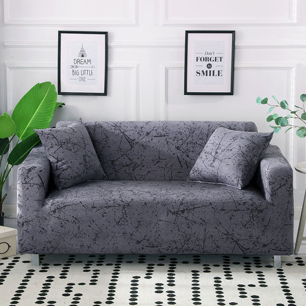 Stupendous Stripped Sofa Cover Stretch All Inclusive Sofa Slipcover Single Loveseat Couch Covers Covers For Living Room 1 2 3 4 Seater Wingback Chair Cover Machost Co Dining Chair Design Ideas Machostcouk