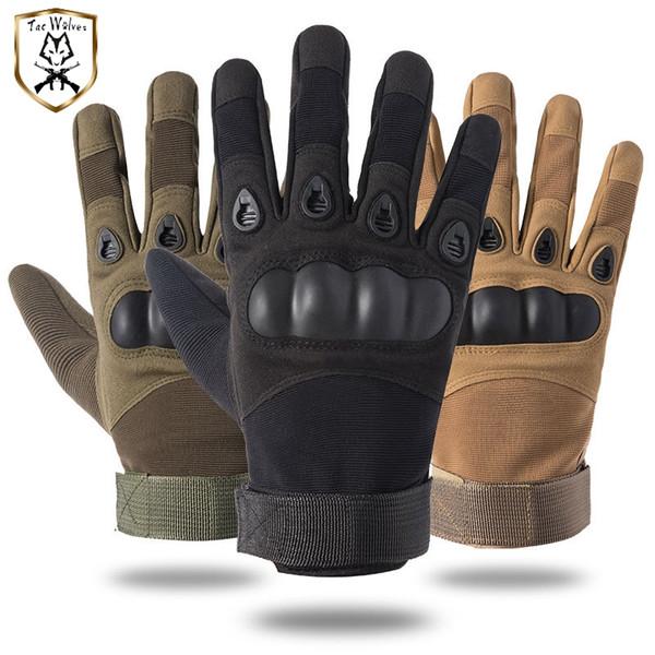 Gants tactiques, gants de plein air armée de plein air sport armée randonnée à vélo moto chasse accessoires de protection tactique pour les hommes et les femmes