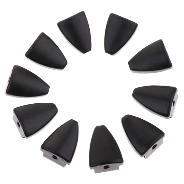 best selling 10 Pieces Iron Triangle Shape Drum Claw Hook for Bass Snare Drum Parts