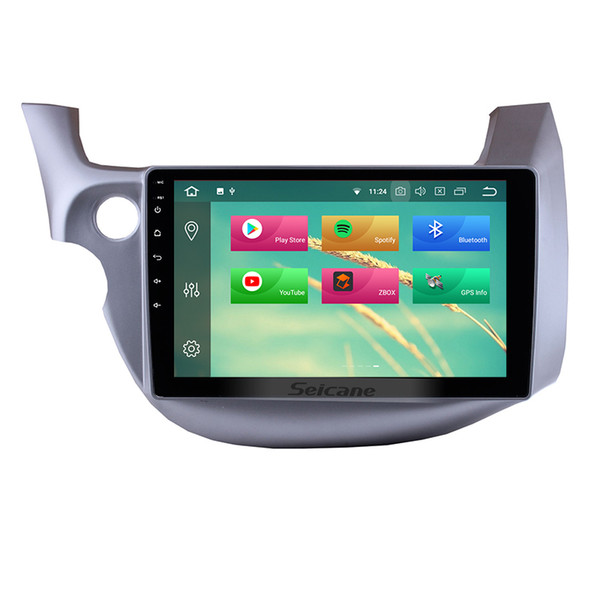 10.1 inch Android 8.0 Touchscreen GPS Navi Car Stereo for 2007-2013 Honda FIT with WIFI Bluetooth Mirror Link support OBD2 DVR car dvd
