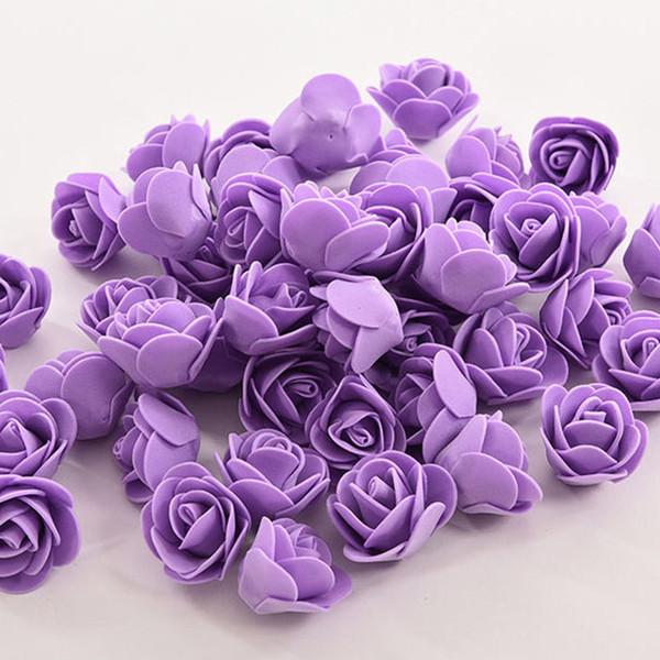 150 adet çiçek mor